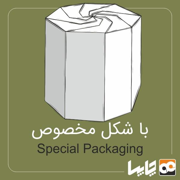 جعبه با شکل خاص